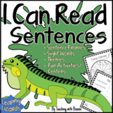 """Just Right Reading"" for Beginners: Sight Words, Picture Clues"