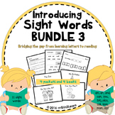 Sight Words First Sight Words & Emergent Readers 3
