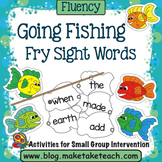 Sight Words- Fishing For Sight Words- Fry Sight Words