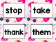 Word Wall Cards with Sight Words - Read and Trace {Yummy Ice Cream}