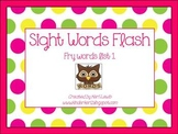 Sight Words Flash- Fry List 1 for kindergarten