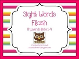 Sight Words Flash- Frye Lists 1-4