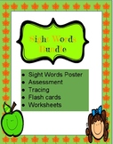 Sight Words, Flash cards, Tracing, Worksheets, Assessments