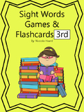 Sight Words Flashcards and Games 3rd Grade