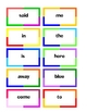 Sight Words - Flashcards for Preschool through 3rd Grade