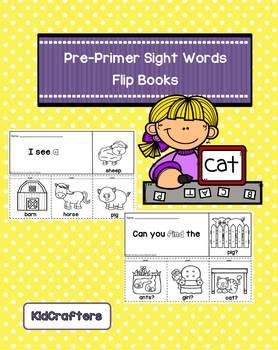 Sight Words Flip Books