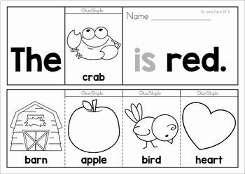 Sight Word Fluency Flip Books: 40 Pre-Primer Sight Word Booklets