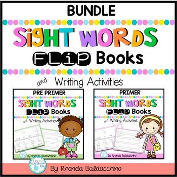 Sight Word Fluency ~ Flip Books and Writing Activities Bundle {86 Flip Books}