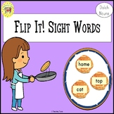 Sight Words Flipping Pancakes Game Dolch Nouns