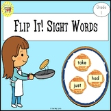 Sight Words Flipping Pancakes Game Dolch Grade 1