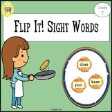 Sight Words Flipping Pancakes Game Dolch Grade 2