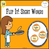 Sight Words Flipping Pancakes Game Dolch Grade 3