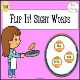 Sight Words Flipping Pancakes Game Dolch Pre-Primer