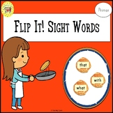 Sight Words Flipping Pancakes Game Dolch Primer