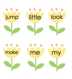 Sight Words: Flower Theme Pre-Primer List