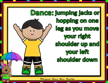 Sight Words Fluency  Dancing & Exercising FIRST GRADE Dolch Words Game May