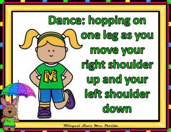Sight Words Fluency  Dancing & Exercising Pre-Primer Dolch Words Game MayVersion