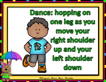 Sight Words Fluency  Dancing & Exercising Primer Dolch Words Game May Version