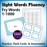 Sight Words Fluency Fry Words 1-1000