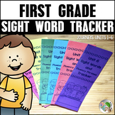 Sight Word Tracker (Journeys Sight Words First Grade Supplement)