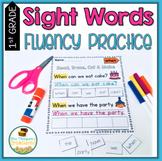 Sight Words Fluency Practice First Grade