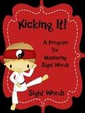 Sight Words Fluency Program - Kicking It Sight Words Dolch Version