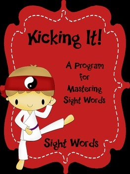 Sight Words Fluency Program - Kicking It Sight Words Dolch Version