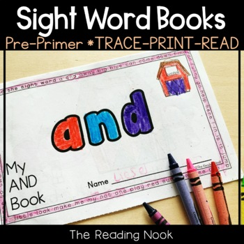 """FREE Sight Word Book """"AND"""""""