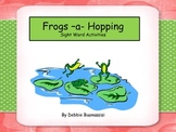 Sight Words, Frogs-a-Hopping