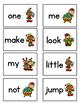 Sight Words Game- Fry List 1 (Elf Theme)