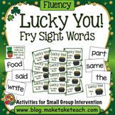 Sight Words- Fry - Lucky You! A St. Patrick's Day Game