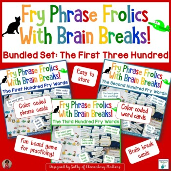 Fry Sight Word Phrases - The First Three Hundred