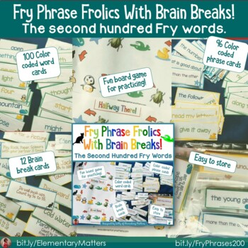 Fry Sight Word Phrases   The First Three Hundred Bundle