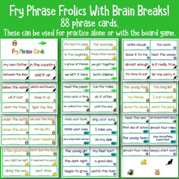 Fry Sight Word Phrases   The Third Hundred