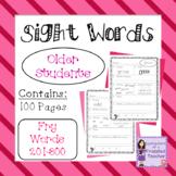 Sight Words - Fry Words: 201-300 - Older Student Version