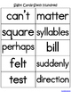 Sight Words (Fry Words)- The Sixth Hundred Word List Homework Packet