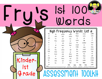 Sight Words {Fry's First 100}