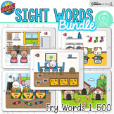 Boom Cards™ Sight Words Fry's Words 1-500 Bundle