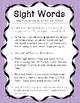 Sight Words - Fun Ways to Practice