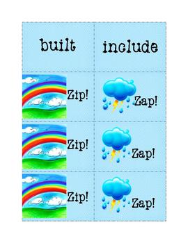 Sight Words Fun: Zip! Zap! 20