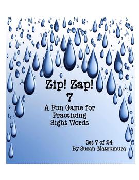 Sight Words Fun: Zip! Zap! 7