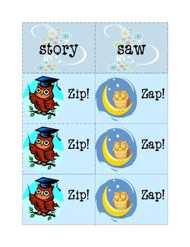 Sight Words Fun:  Zip! Zap! 9