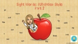 Sight Words Fundation Style Part 2