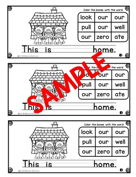 Sight Words Galore - FIRST GRADE LIST 2 {Includes Digital Resource}