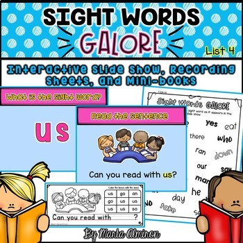 Sight Words Galore - List 4