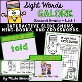 Sight Words Galore - SECOND GRADE LIST 1 {Includes Digital