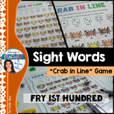 Sight Words Game - Crab In Line