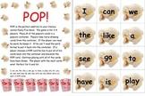 Sight Words Game Kindergarten, First, Second, Third - 220 Dolch Words - POP!!!