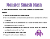 Sight Words Game-Monster Smash Mash
