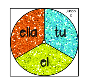 Sight Words Game in Spanish- Arcade Theme